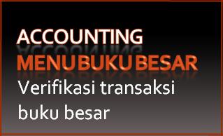 311A Buku besar-Memverifikasi transaksi pada buku besar