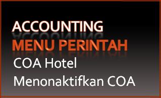 527 Perintah-COA Hotel-Menonaktifkan COA