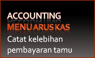 218 Arus kas – Catat lebih bayar – Catat kelebihan